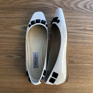 Jimmy Choo | Patent Leather Ballet Flat
